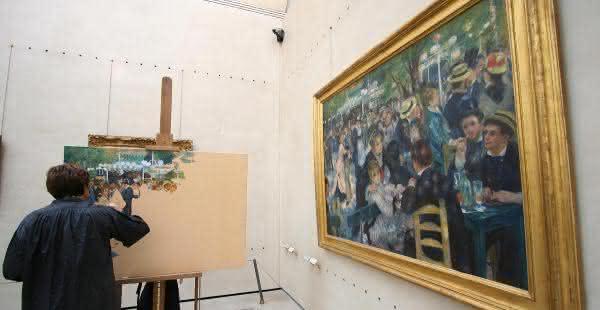 Le bal du moulin de la galette – Pierre-Auguste Renoir