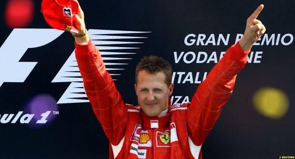 Michael Schumacher entre os melhores