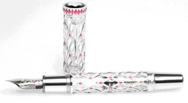 Um das canetas mais caras do mundo Principe Rainier III