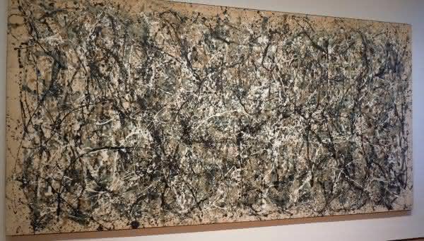 number 5 Jackson Pollock um das pinturas mais valiosas