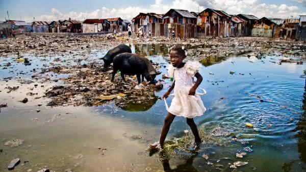 Cite Soleil Haiti uma das maiores favelas do mundo