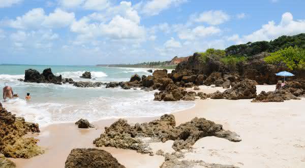 Praia de nudismo Tambaba – Paraiba
