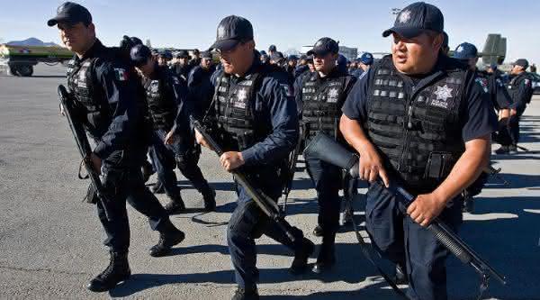 forca policial do mexico