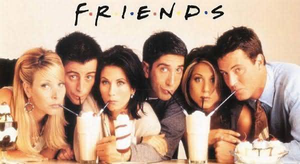 friends entre as melhores séries de tv da hiostoria