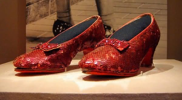 Harry Winston Ruby Slippers sapato mais caro