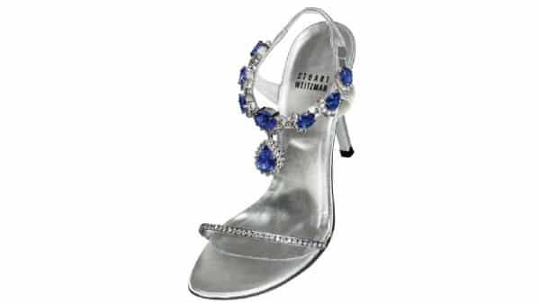 Stuart Weitzman e LeVian Evening Shoes expensive