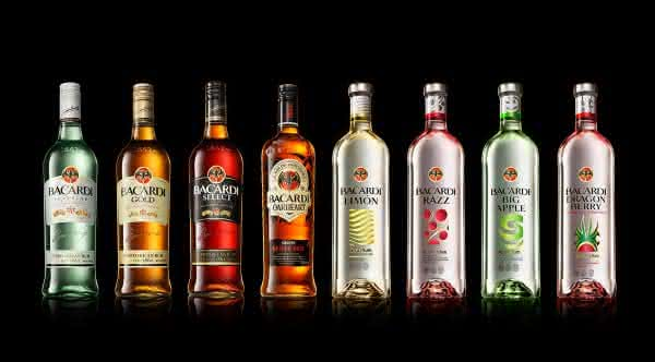 bacardi destilados mais consumidos do mundo