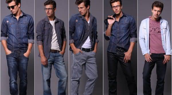 calcas jeans masculino
