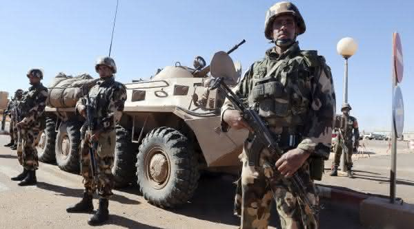 forcas armadas da argelia