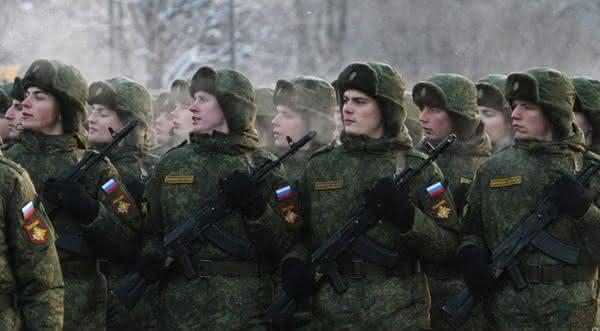 forcas armadas da russia