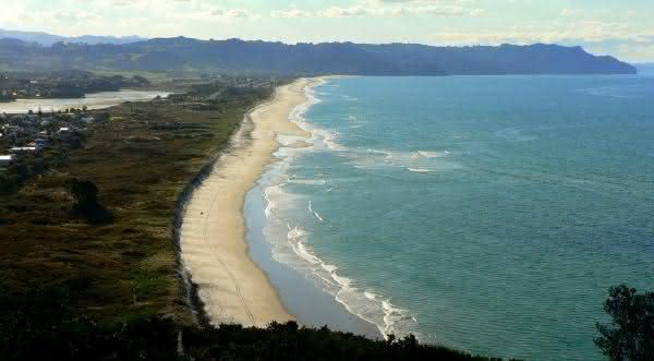 praia de nudismo Waihi – Bay of Plenty