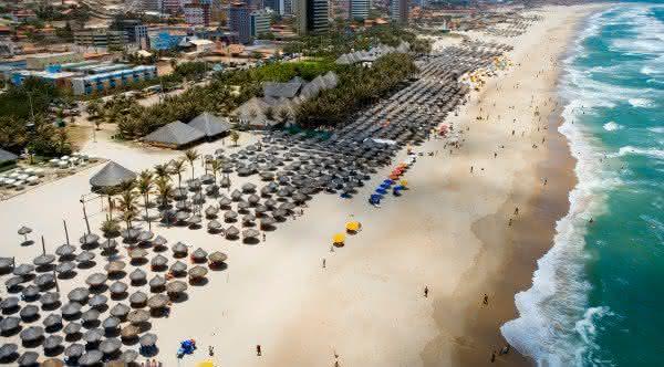 praia do futuro entre as praias mais visitadas do brasil