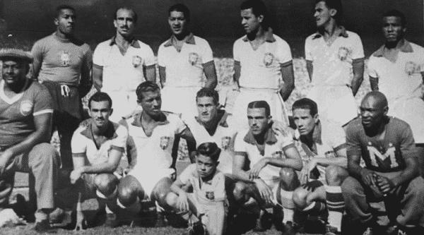 selecao brasileira de 1950 entre os melhores ataques