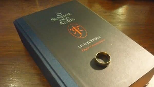 senhor dos aneis um dos livros mais distribuidos no mundo