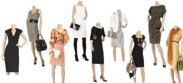 vestidos para mulheres