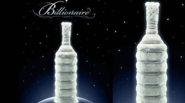 Billionaire Vodka mais cara do mundo