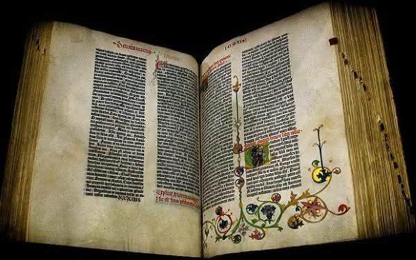 a biblia mais cara de Gutenberg