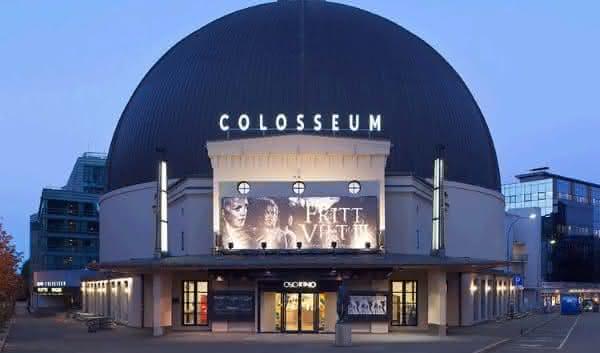 colosseum um dos maiores cinemas do mundo