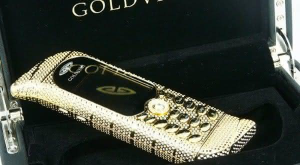 Gold Vish Le Million Piece Unique celulares mais caros