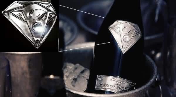champanhe mais caro Gout de Diamants Taste of Diamonds