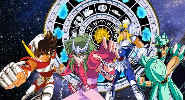 os cavaleiros do zodiaco desenho animado dos anos 90