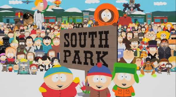 south park desenhos animados que fizeram sucesso nos anos 90