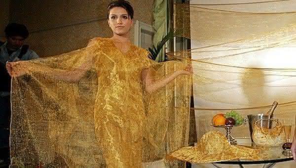vestido gold swimsuit de Ginza Tanaka