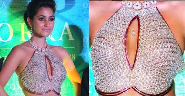 Anamika Khanna ORRA Diamond Bustier mais caro