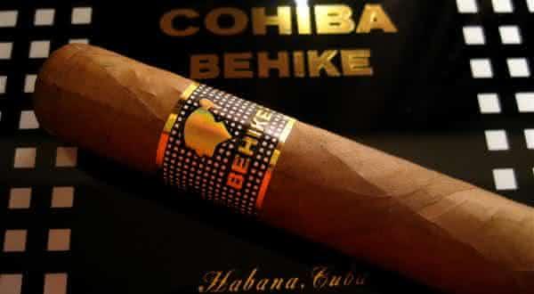 CohibaBehike um dos cigarros mais valiosos