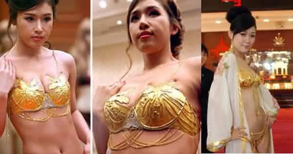 Gold Lingerie de Shenyang City lingerie mais caras