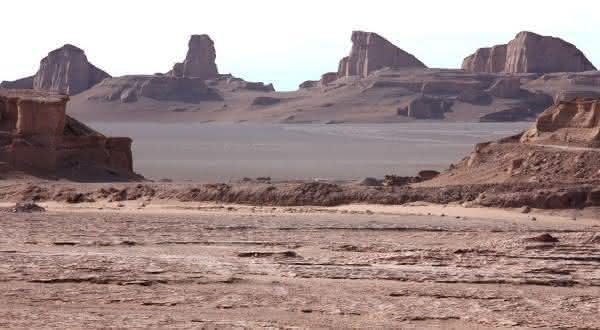 Lut Ira deserto mais quente do mundo