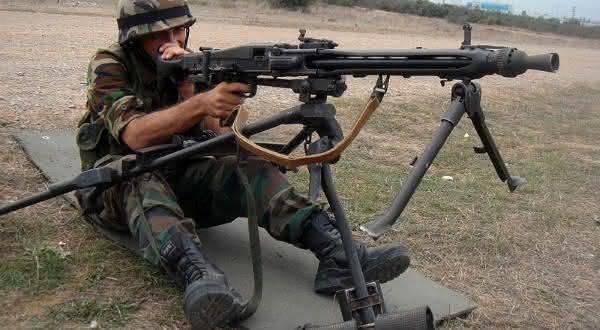 MG3 Machine Gun armas mais perigosas
