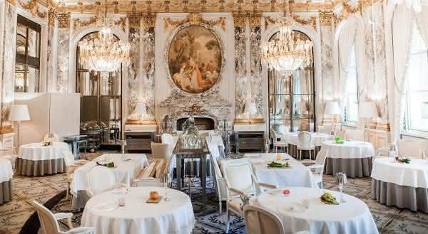 Restaurant Le Meurice entre os mais caros