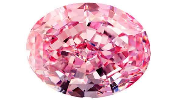 Steinmetz Pink Diamond entre os diamantes mais valiosos