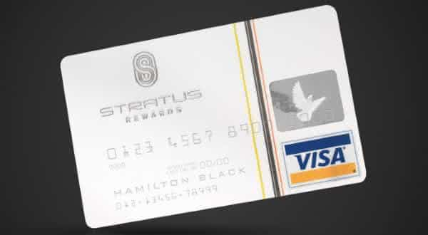 Stratus Rewards Visa entre os cartoes de creditos mais caros