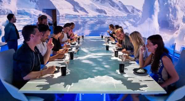 Sublimotion restaurante mais caro