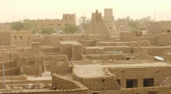 Timbuktu Mali um dos luagres que mais faz calor