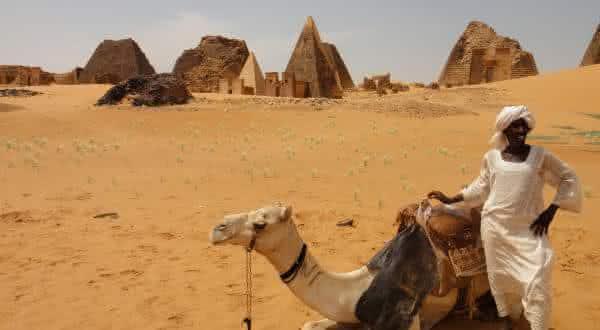 Wadi Halfa no Sudao um dos lugares mais quentes do planeta