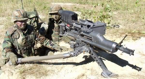 XM307 ACSW Advanced Heavy Machine Gun armas mais perigosas