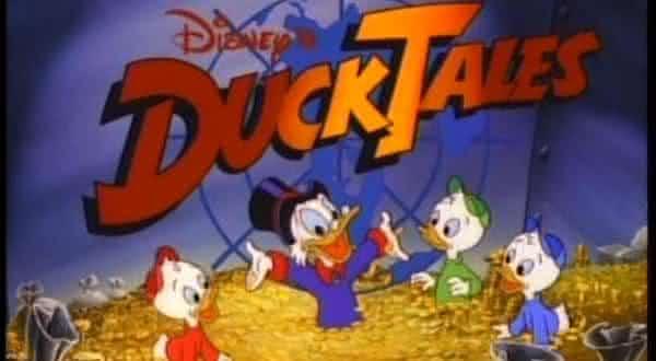 ducktales desenhos animado dos anos 80