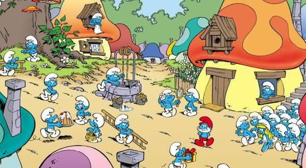 os smurfs desenhos anos 80