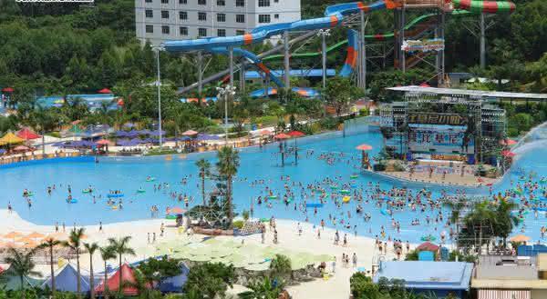 parque aquatico Chimelong