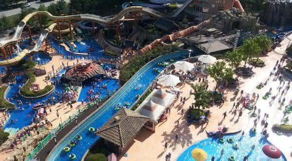parque aquatico Resom Spa Castle