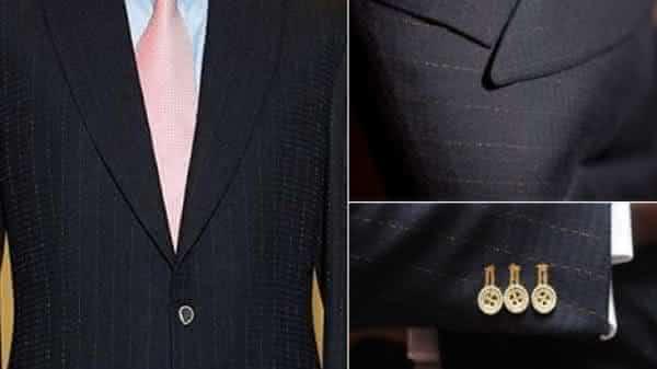 Alexander Amosu design de um dos ternos mais bonitos do mundo