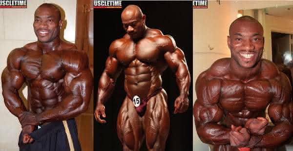 Dexter Jackson entre os homens mais fortes e bombados do mundo