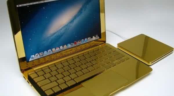 MacBook Pro-24 Quilates notebooks mais caros do mundo