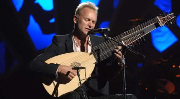 Sting entre os shows com ingressos mais carosSting entre os shows com ingressos mais caros