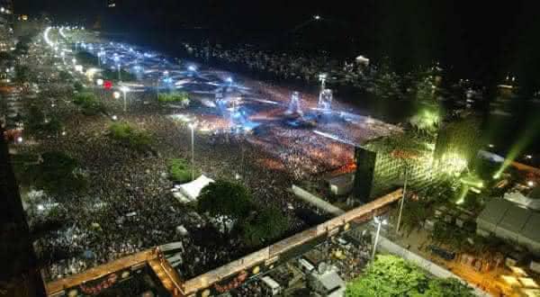rolling stones copacabana um dos melhores shows de todos os tempos