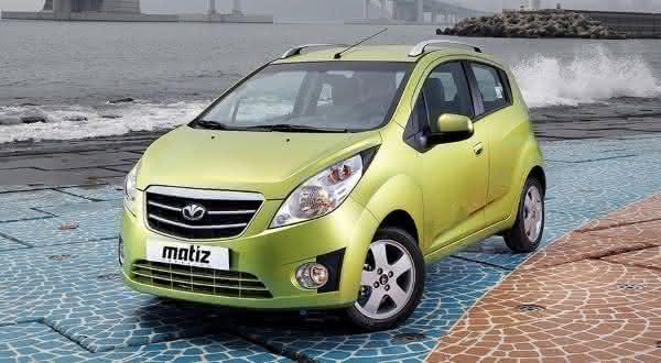 Daewoo Matiz entre os carros mais baratos do mundo