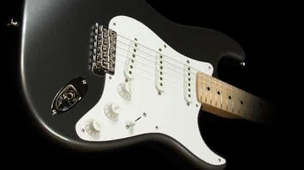 Eric Clapton Stratocaster Guitarra entre os instrumentos mais caros